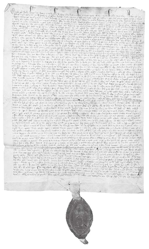 CHARTER OF THE CHAPTER OF YORK
