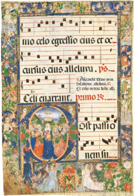 ASCENSION, in an initial P on