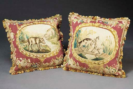 A PAIR OF LOUIS XVI BEAUVAIS T
