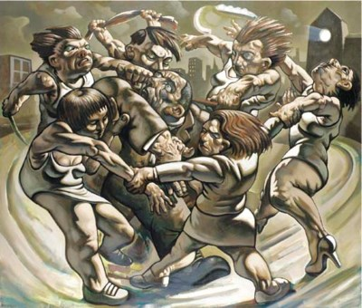Peter Howson (b. 1958)