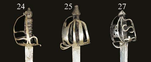 A BASKET-HILTED MILITARY BROAD