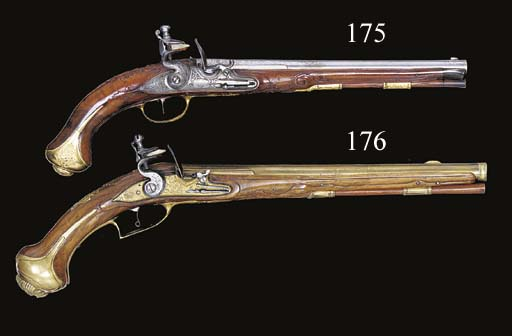 A FINE 40-BORE BAVARIAN FLINTL