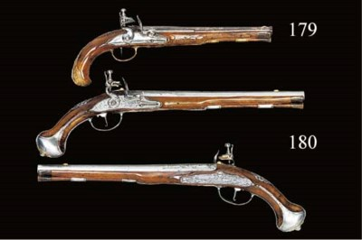 A 50-BORE BAVARIAN FLINTLOCK H