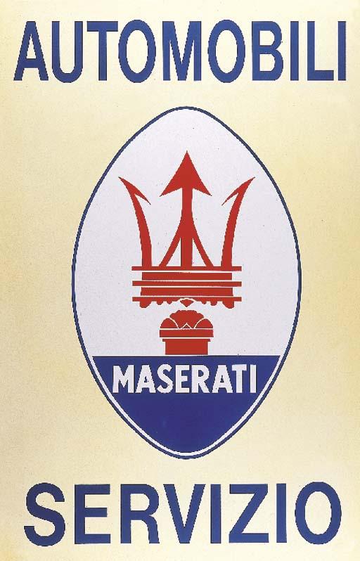 Maserati 'Automobili Servizio'
