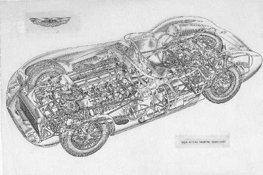 Aston-Martin DBR1/300; indian