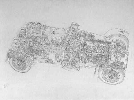Bugatti Type 50 Le Mans; signe
