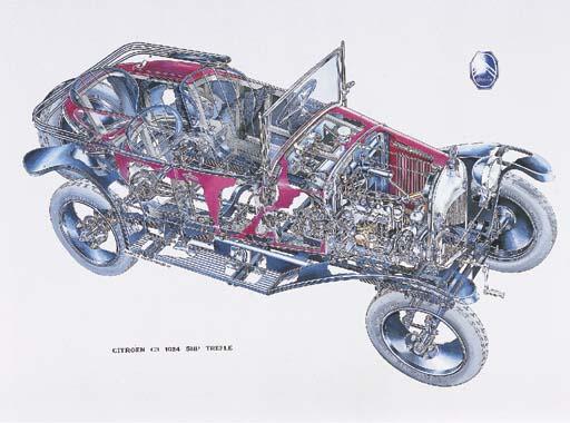 Citroen 5CV 'Cloverleaf' 1923;
