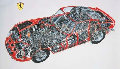 Ferrari 250 GTO 1962; full-col