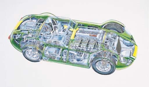 Lister-Jaguar 'Knobbly' 1958 S