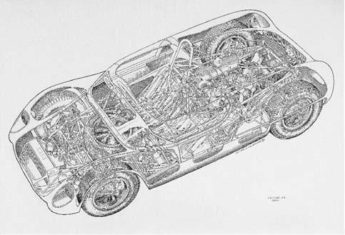 Lotus 23 Ford 105E - 2 seater
