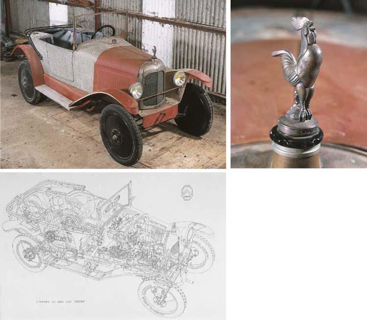 1924 CITROEN 5CV C3 THREE SEAT