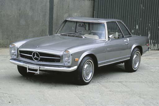 1969 MERCEDES-BENZ 280 SL ROAD