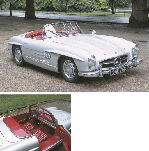 1958 MERCEDES BENZ 300sl ROADS