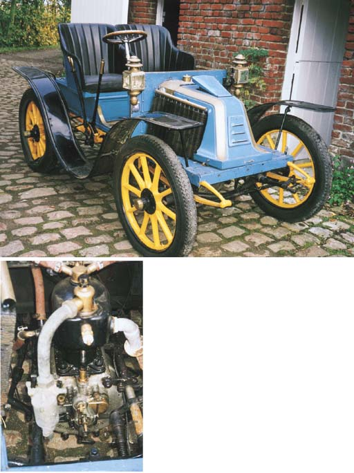 1903 RENAULT MODEL M 6HP TWO S