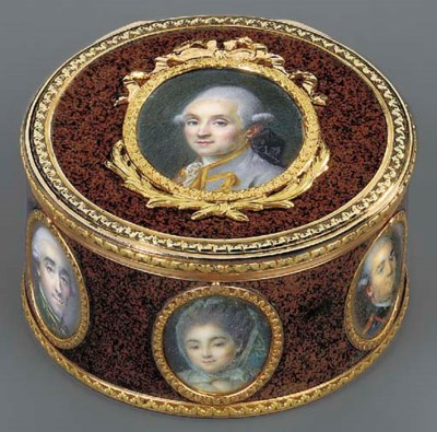 A LOUIS XVI LACQUER AND TWO-CO