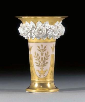 A Berlin flared vase