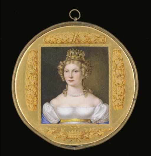 A Berlin Royal circular portra
