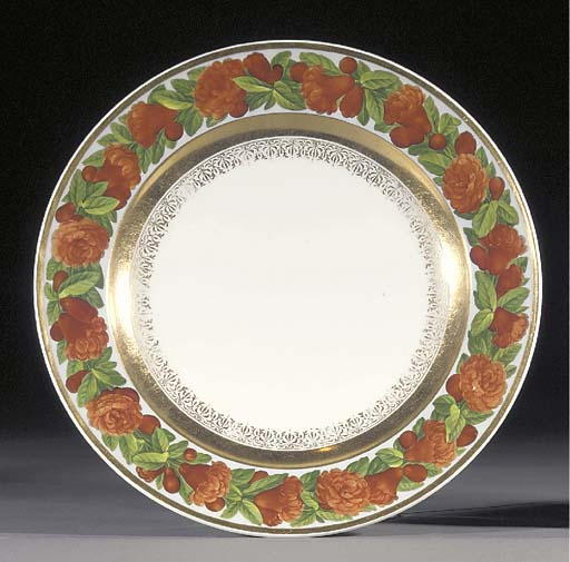 A Berlin Royal plate from the