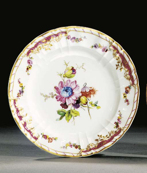A Berlin shaped plate from the