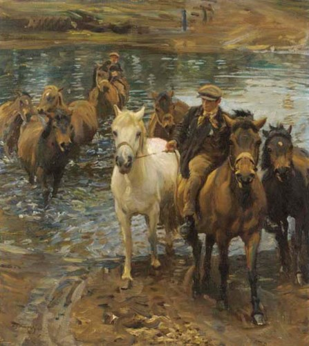 Sir Alfred James Munnings, PRA