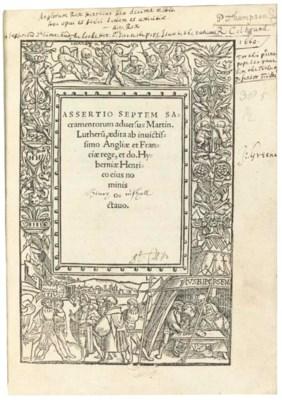 HENRY VIII (1509-1547). Assert
