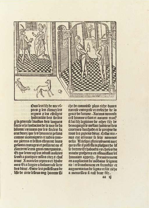 LE FEVRE, Raoul (fl.1464). Le
