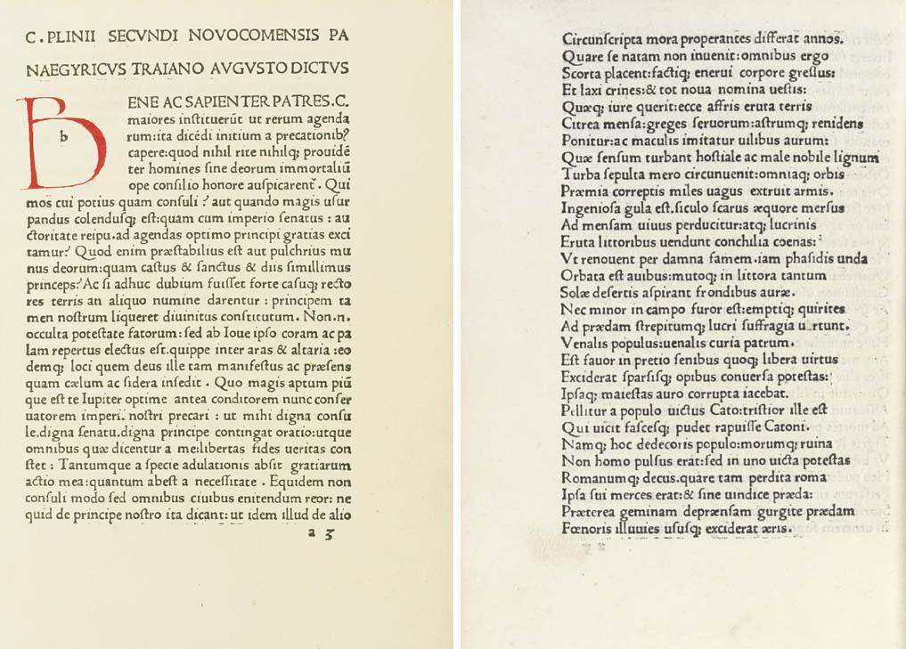 Panegyrici Latini -- PLINIUS S