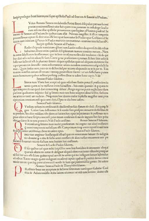 SENECA, Lucius Annaeus (c. 4 B