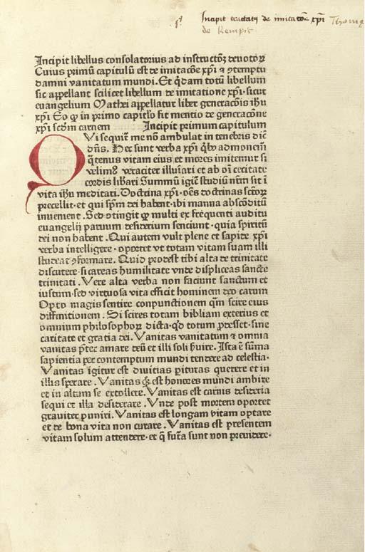 THOMAS A KEMPIS (c. 1380-1471)