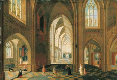 Attributed to Pieter Neefs II