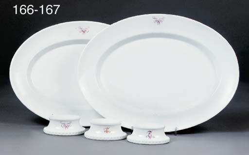 Two Berlin (K.P.M.) porcelain