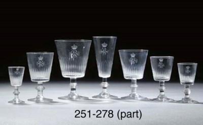 Thirty-three German engraved m