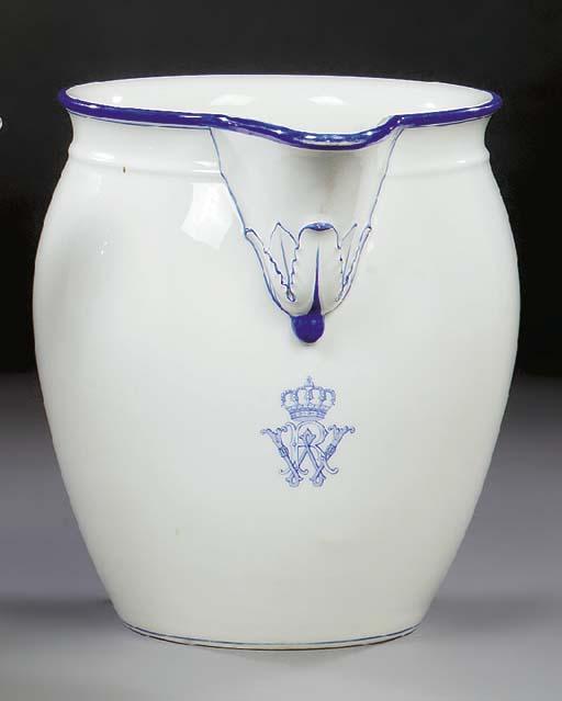 A Berlin (K.P.M.) porcelain wa