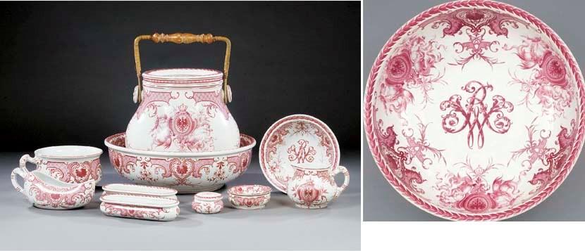 A Villeroy and Boch part potte