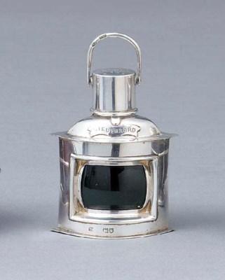 An Edward VII silver novelty p