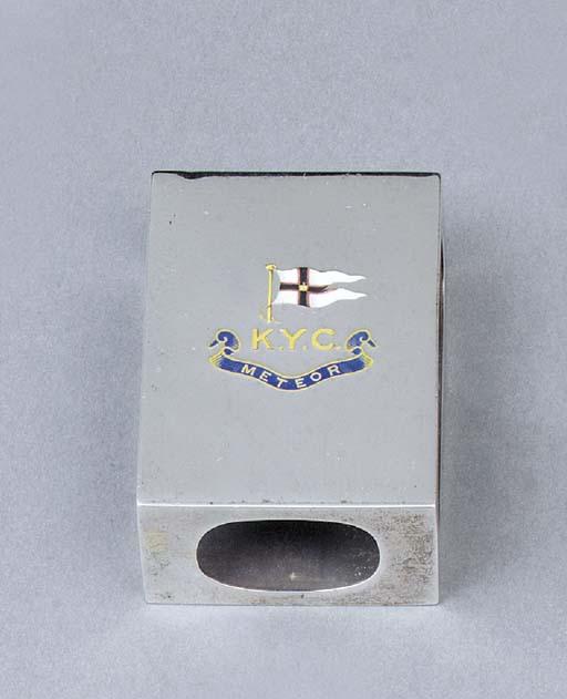 A Victorian silver matchbox-sl