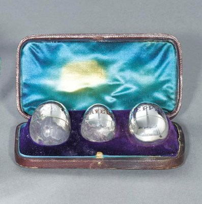 A Victorian silver and enamell