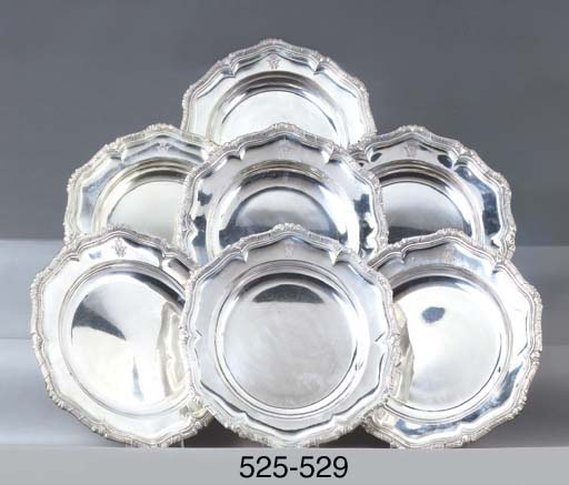 A German silver serving-dish