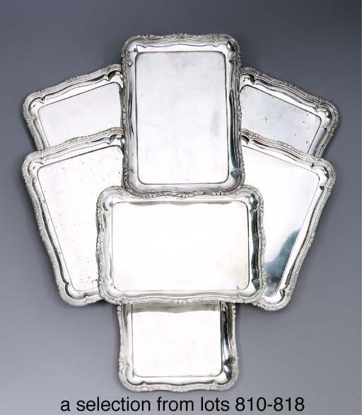 A German silver tray