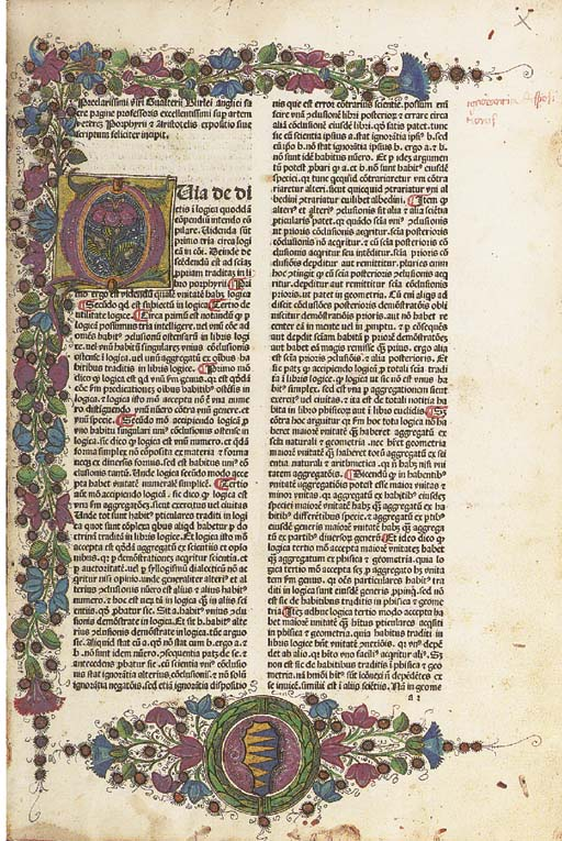 BURLEY, Walter (c.1275-c.1345)