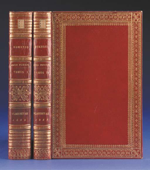 HOMER (? 8th century B.C.). Op