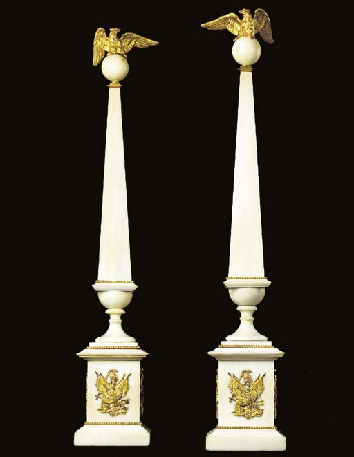 A PAIR OF BALTIC NEOCLASSIC OR