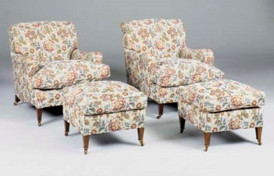 A FIVE PIECE SUITE BY HOWARD,
