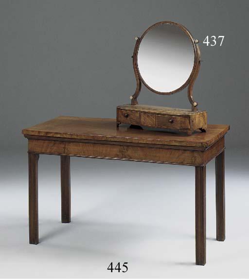 A MAHOGANY SERVING TABLE, 19TH CENTURY