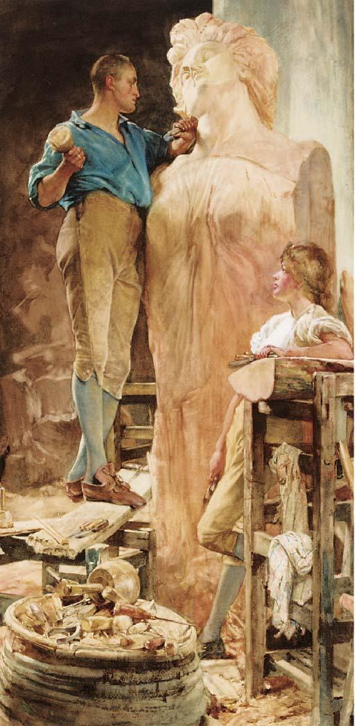 Edgar Bundy (1862-1922)