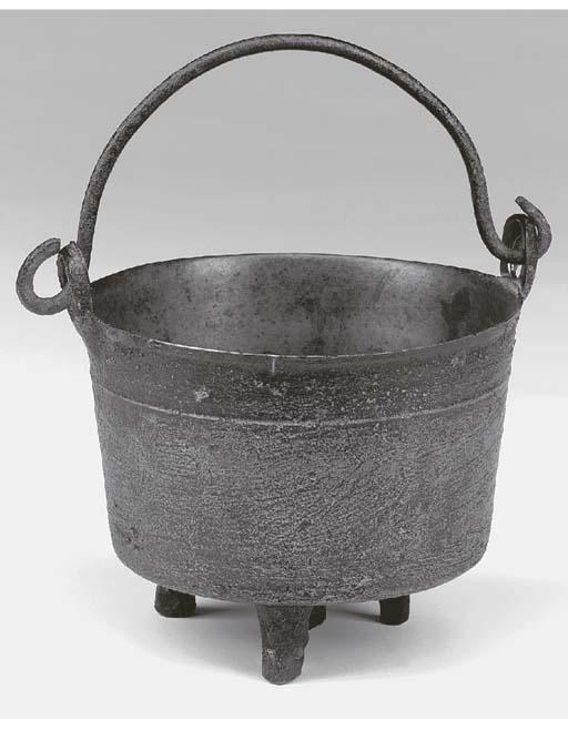 A leaded bronze miniature caul