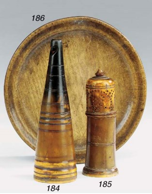 A Scottish horn whistling cup,