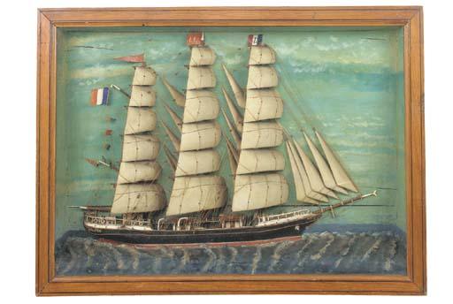 A sailor's half model picture