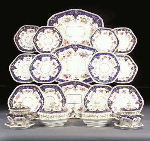 A Ridgway part dinner service