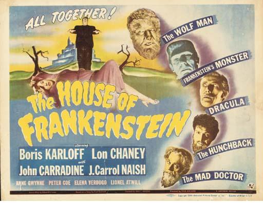 The House Of Frankenstein